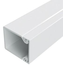 Настенный короб DKC 40x40 белый