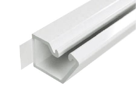 Мини-канал настенный на самоклейке DKC 12x12 белый