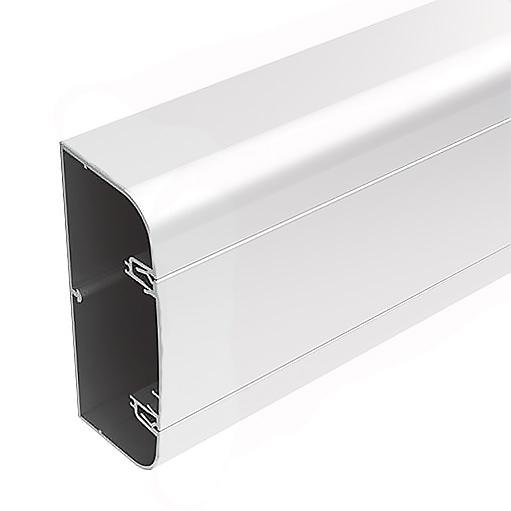 Алюминиевый кабель канал DKC 90x50 белый