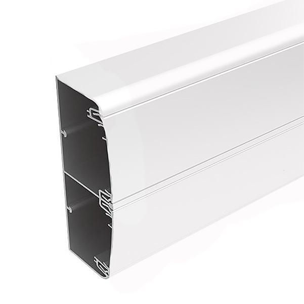 Алюминиевый кабель канал DKC 140x50 белый