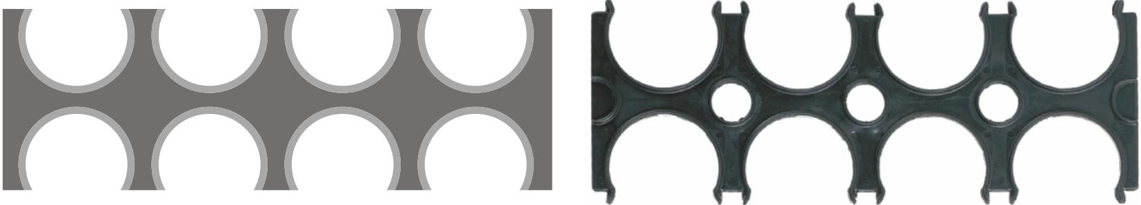 Аксессуары для труб двустенных ELCOR