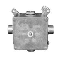 Алюминиевая ответвительная коробка 96x96