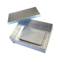 Стальная ответвительная коробка 150x110