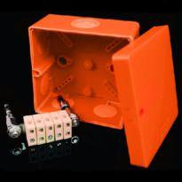 Огнестойкая электромонтажная коробка 117x117x58