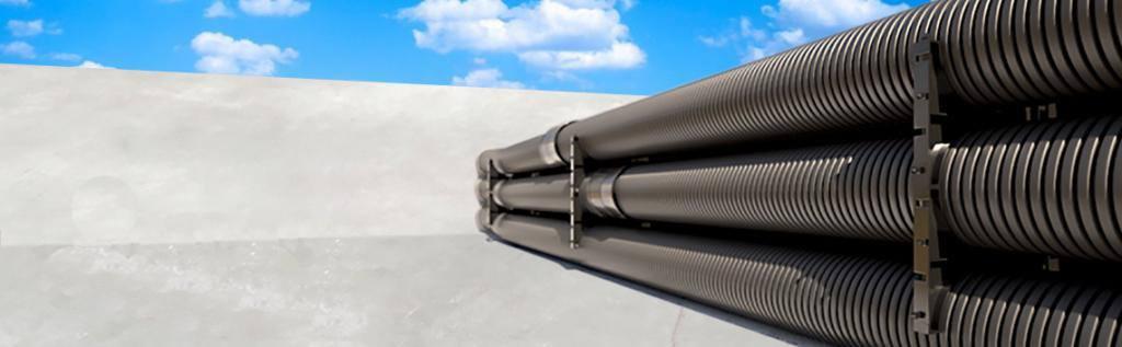 Труба гнучка двошарова електротехнічна (ПНТ/ПВТ). Огляд. Опис. Порівняння. Ціни