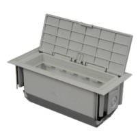 Монтажная напольная коробка 175x80x75 мм