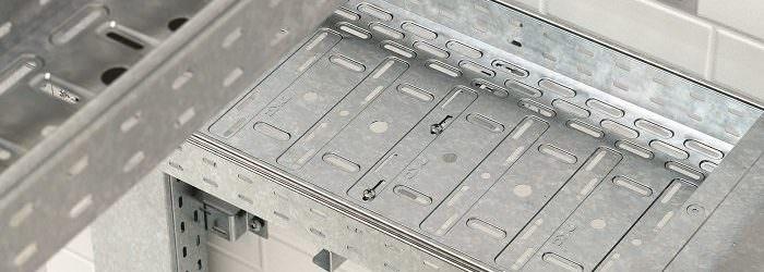 Кабельные лотки металлические ДКС