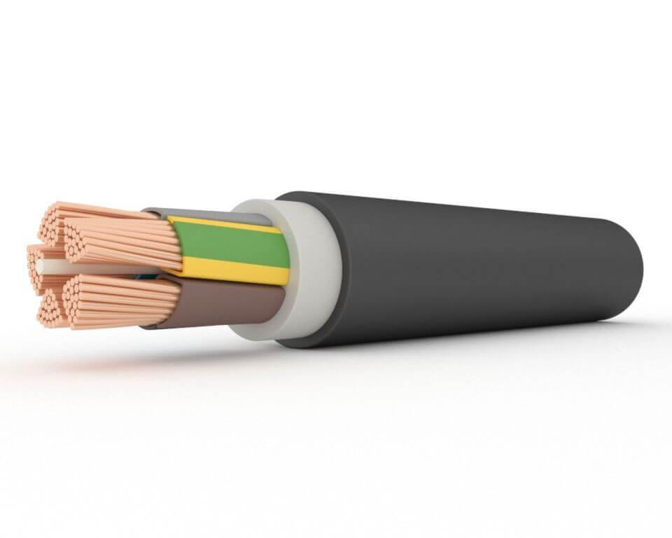 Электрический кабель силовой АПвП 1х240